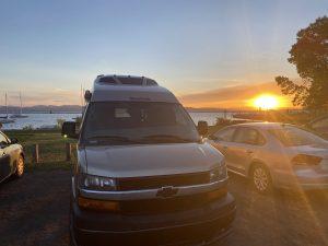 Sunset in Burlington Vermont