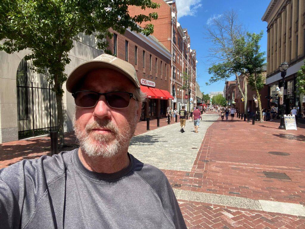 Downtown Salem tourist district.