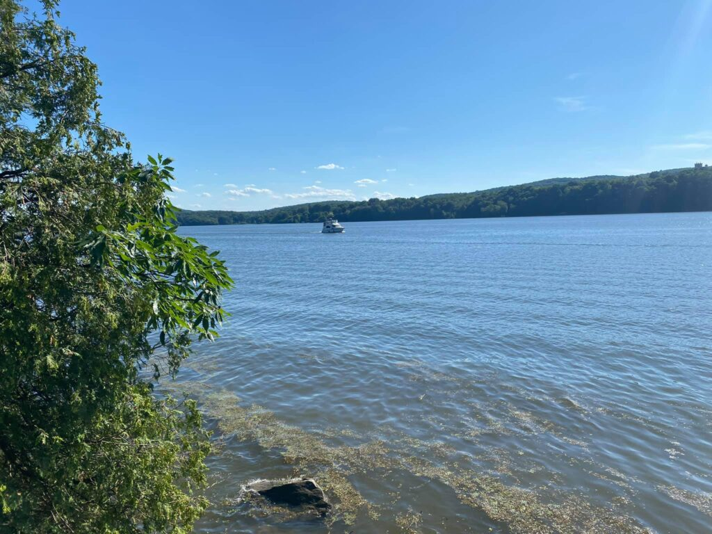 Hudson River at Mills-Norrie state park.