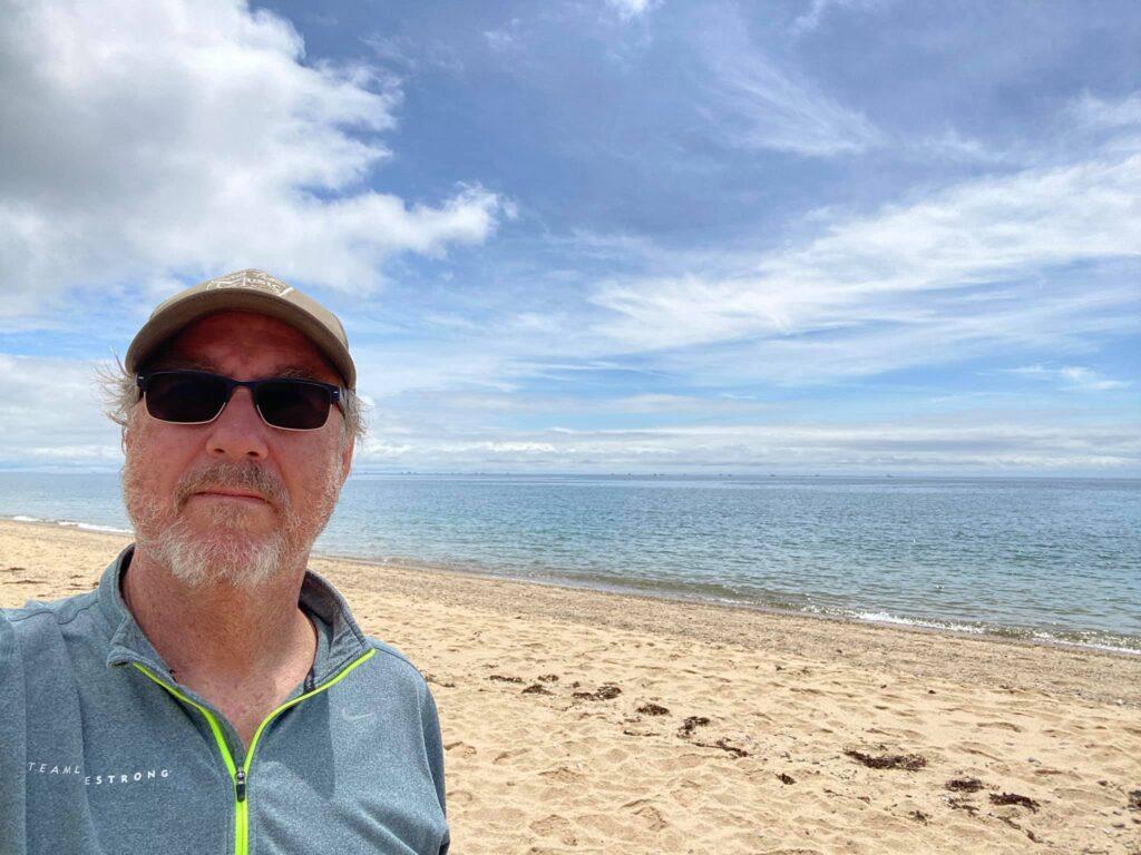 Beach walk at Cape Cod national seashore.
