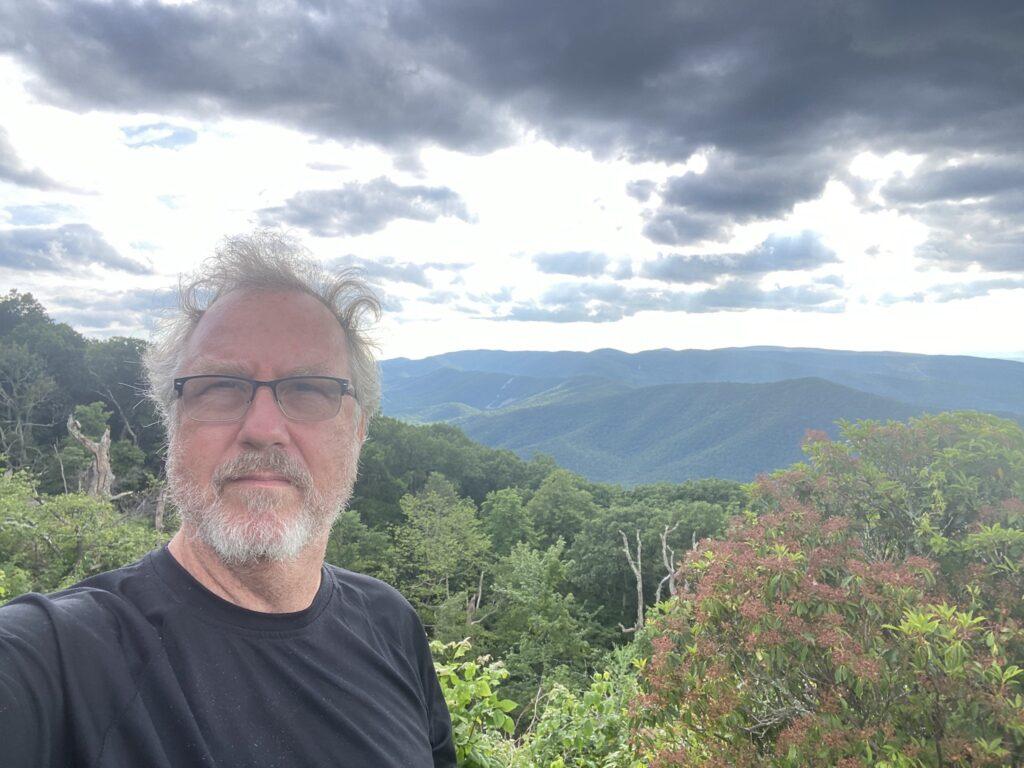 Blue Ridge Parkway view.